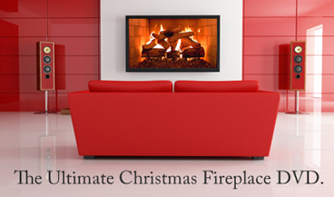 The Ambient Fireplace DVD You Can Use Year Round! The Plasmavironments™  Fireplace DVD Is The DVD That Gives You More Than Just A Fireplace.